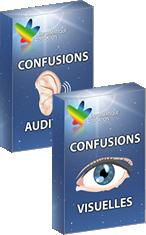 PACK CONFUSIONS (VISUELLES + AUDITIVES)